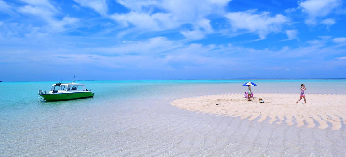 与論島の百合ヶ浜に一番近い癒やしの宿 百合ヶ浜ビーチハウス